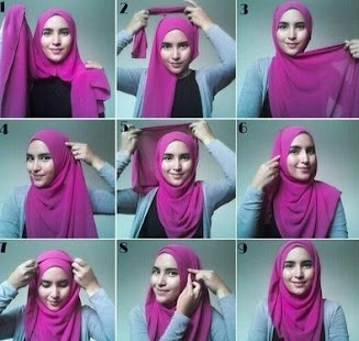 Tutorial Hijab Pashima Paris - screenshot