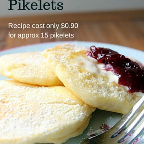 how to make pikelets with plain flour