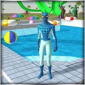 super hero water slide uphill rush For PC