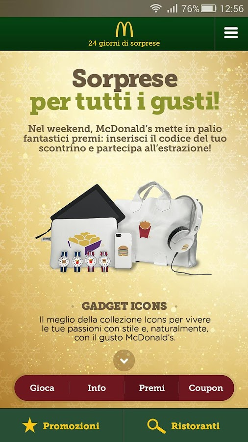 McDonald's Italia Screenshot 4