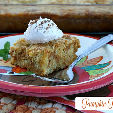 Pumpkin Pie Cake {Thanksgiving Dessert}