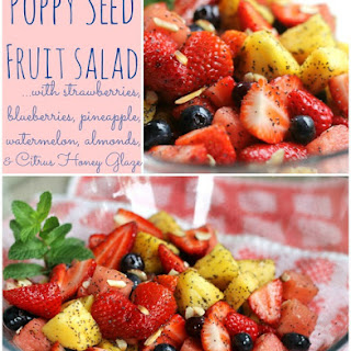 Honey Lime Poppy Seed Fruit Salad Recipes