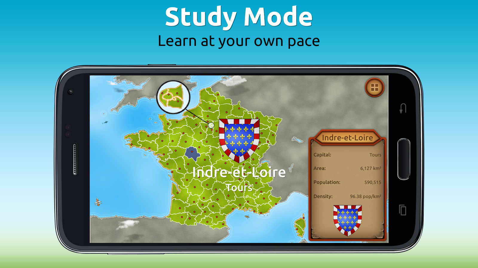 GeoExpert - France Geography Screenshot 2