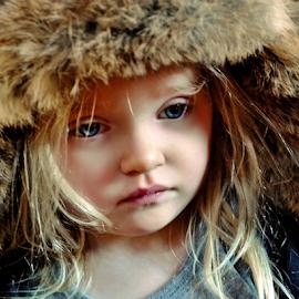 Somber by Cheryl Korotky - Babies & Children Child Portraits