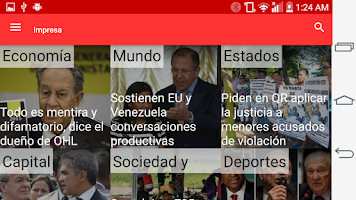 Screenshot of La Jornada