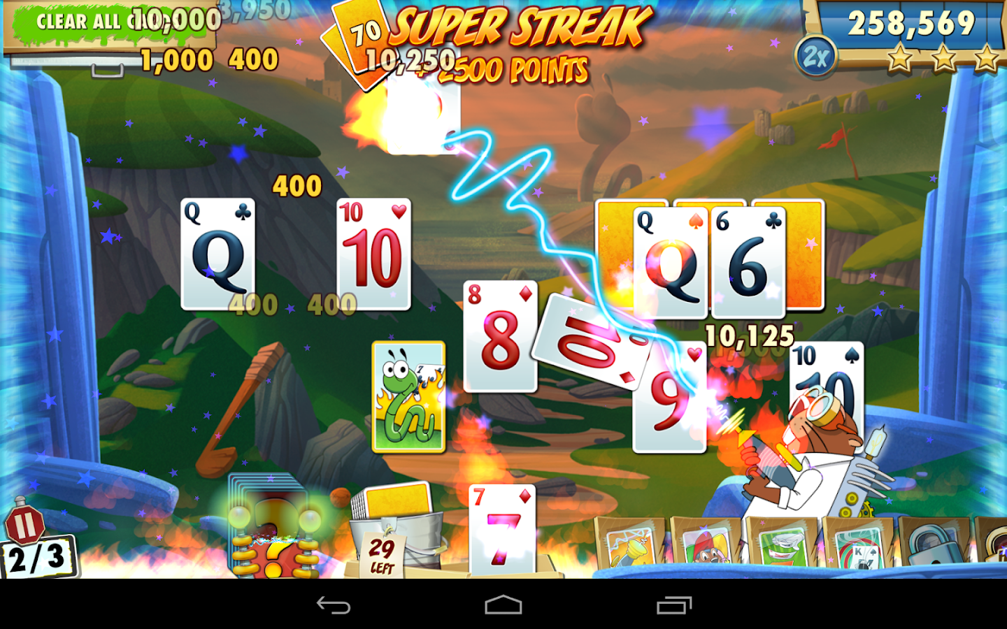 Fairway Solitaire Blast Screenshot 17