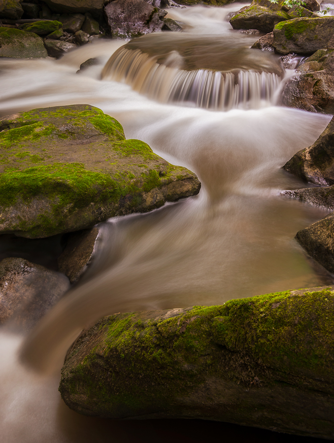 Cascade Falls by Elvis Dorencec - Nature Up Close Water ( waterdown great falls, waterdown )