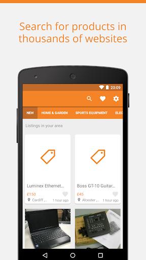 Second hand products - Trovit screenshot 1