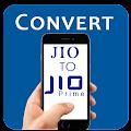 Convert SIM to Jio Prime Prank