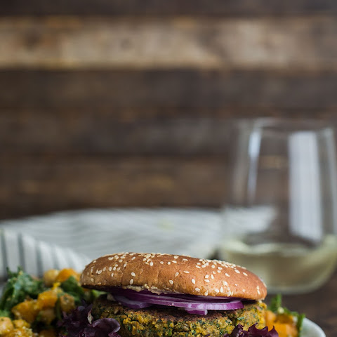 Chickpea and Spinach Burgers