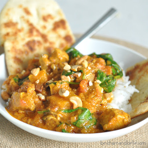 Chicken and Butternut Squash Coconut Curry