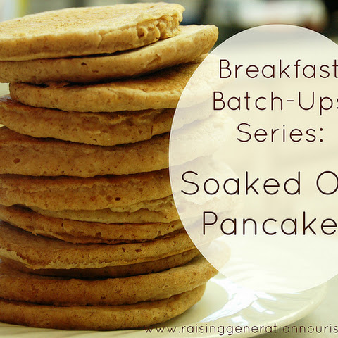 One Month of Quick, Warm Breakfast Pancakes :: Gluten, Egg, and Dairy Free