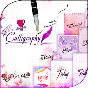 calligraphy pens : caligrafia & logo maker For PC / Windows 7/8/10 / Mac – Free Download