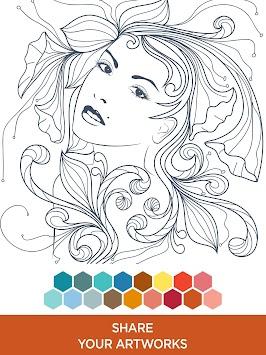 Colorfy ME Free Coloring Book Apk Screenshot