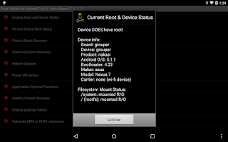 Screenshot of Root Toolkit for Android™