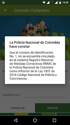 Código Nacional de Policía y Convivencia screenshot 5