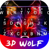 Free 3D Wolf Theme&&Emoji Keyboard APK for Windows 8