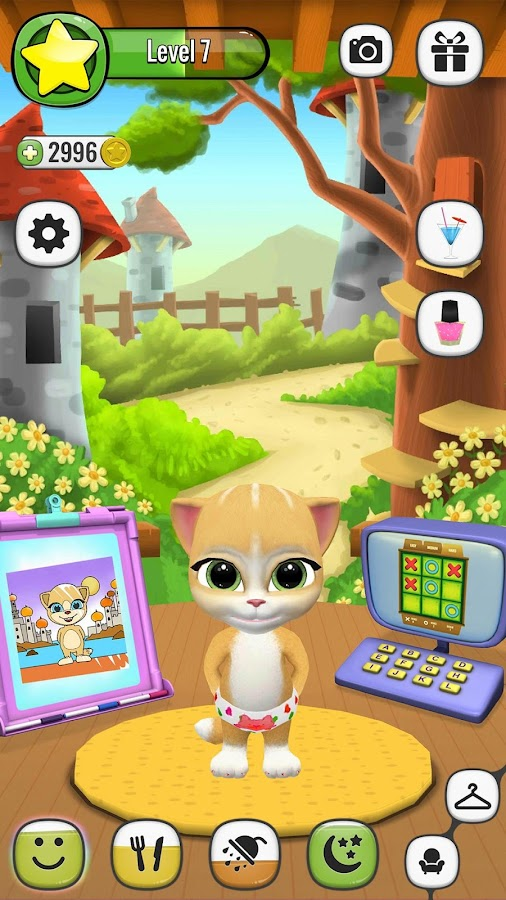Emma The Cat - Virtual Pet Screenshot 4