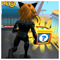 Subway Cat Girl Noir