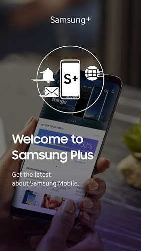 Samsung Plus Learning Android App Screenshot