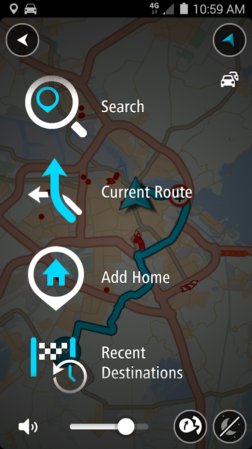 TomTom GPS Navigation Traffic Screenshot 6