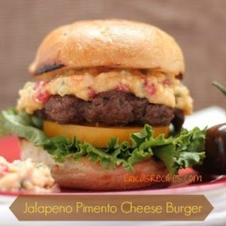 Jalapeno Pimento Cheese Burger
