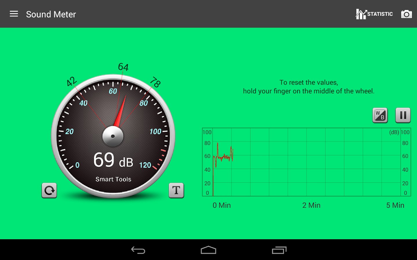 Sound Meter Pro Screenshot 9
