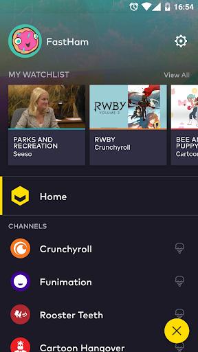 VRV: Anime, game videos & more For PC