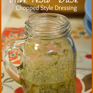 Olive Pesto Chopped Style Dressing