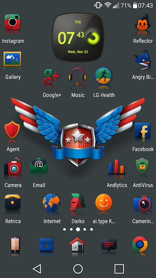 Reflector - Icon Pack Screenshot 7
