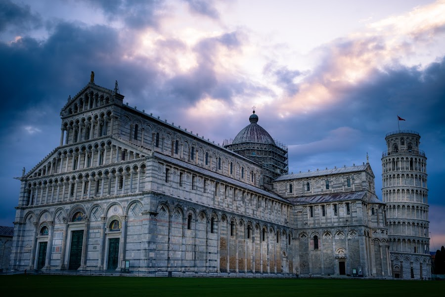 Pisa Italy 3 by Xianwen Xu - Buildings & Architecture Public & Historical ( 2016, travel, europe, italy, leica )