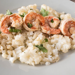 Chili-Lime Shrimp over Rice