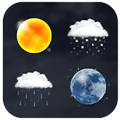 App Realistic Weather Iconset HD version 2015 APK