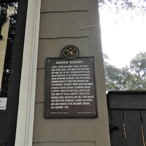 Oscar J. Marcour (1895-1956), violinist and bandleader, lived here at 431 Opelousas Ave from 1917 to 1919. He played with the Jules Bauduc Orchestra at the Silver Slipper, made and Edison Dictaphone ...
