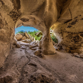 Look from the past by Sergio Gold - Landscapes Caves & Formations