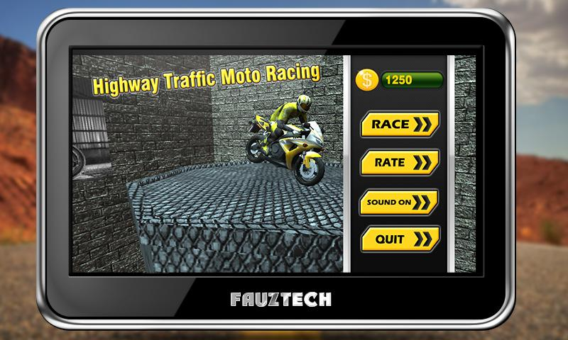 Highway Traffic Moto Racing Screenshot 8