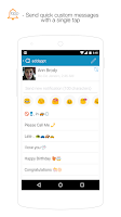 Screenshot of addappt: up-to-date contacts