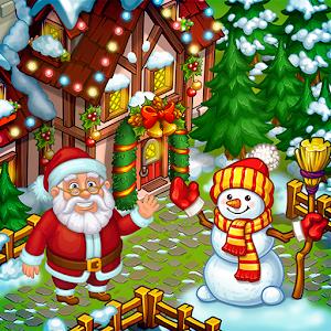 Farm Snow: Happy Christmas Story With Toys & Santa For PC (Windows & MAC)