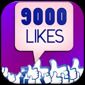 9000 likes for Fb Liker tips