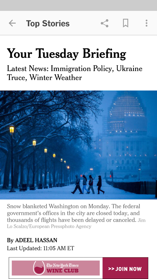 NYTimes - Latest News Screenshot 4
