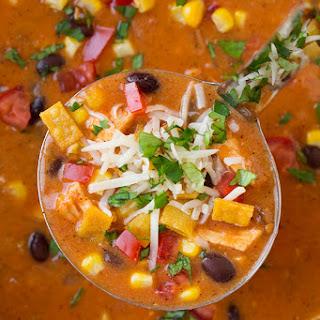 Cheesy Chicken Enchilada Soup Recipes