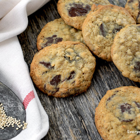 Chocolate Chunk Quinoa Cookies