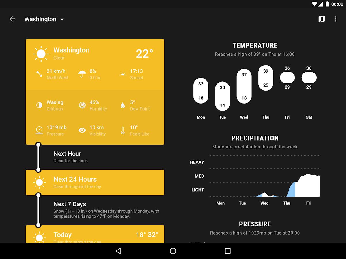 Weather Timeline - Forecast Screenshot 8