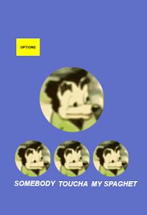 Somebody Toucha My Spaghet Soundboard Meme Button for pc