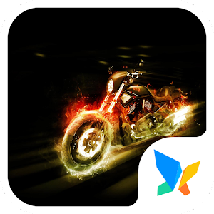 Download free Crazy motorcycle 91 Launcher Theme for PC on Windows and Mac