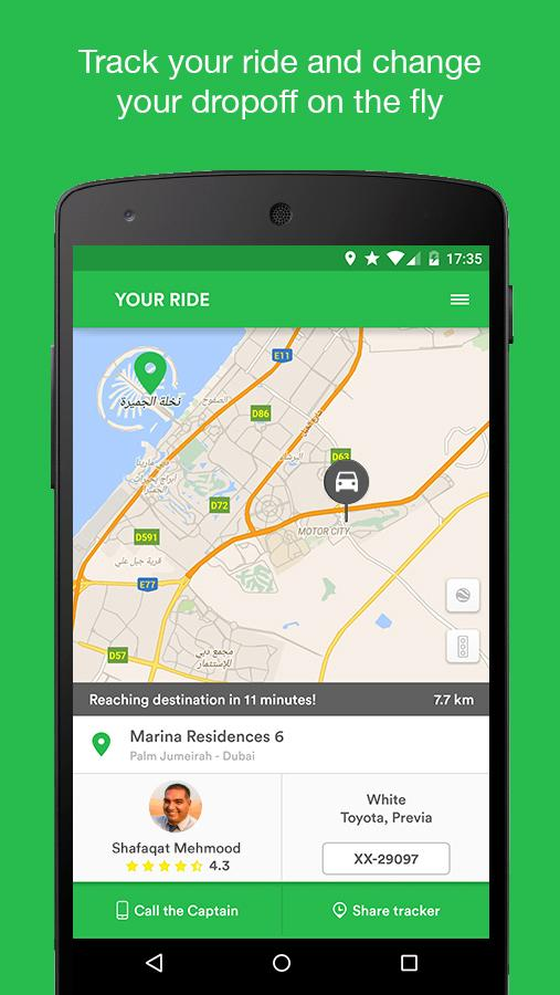 Careem - Car Booking App Screenshot 3