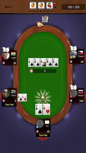 Texas holdem poker king - screenshot