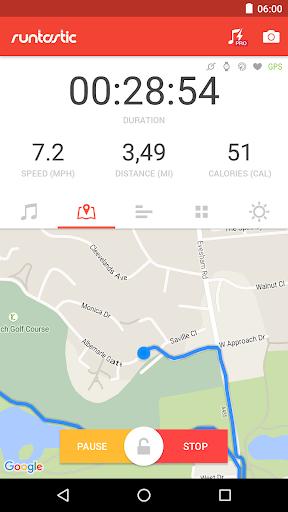 Runtastic Road Bike Cycling GPS Tracker screenshot 1