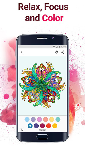 Colorflow: Adult Coloring & Mandala For PC