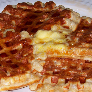 Lightened Up Light and Fluffy Whole Wheat Waffles